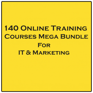 140 Online Training Courses Bundle - IT & Marketing